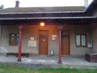 Budova vlakového nádraží Rozsochy