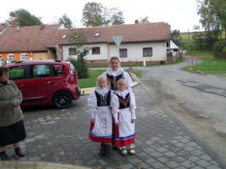 Hodový průvod obcí
