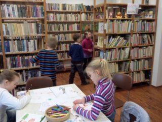 Návštěva ZŠ Rozsochy - exkurze v knihovně