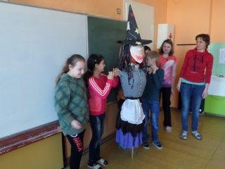 ZŠ Rozsochy - čarodějnice připravena!