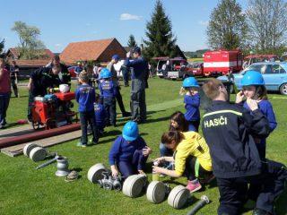 přípravy na závod DHL - družstvo Rozsochy