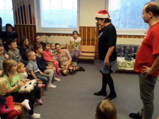 Vánoční divadelní představení - Vánočníček (Divadlo Paravánek, 17.12.2016)