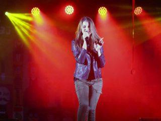 Vystoupení zpěvačky Adély Částkové