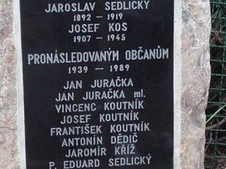Odhalení pomníku v Blažejovicích - rok 2018